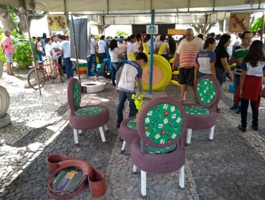 ALUNOS DA REDE MUNICIPAL DE ITABAIANA PARTICIPAM DE CARAVANA DE EDUCAÇÃO AMBIENTAL, PROMOVIDA PELA SEDUC