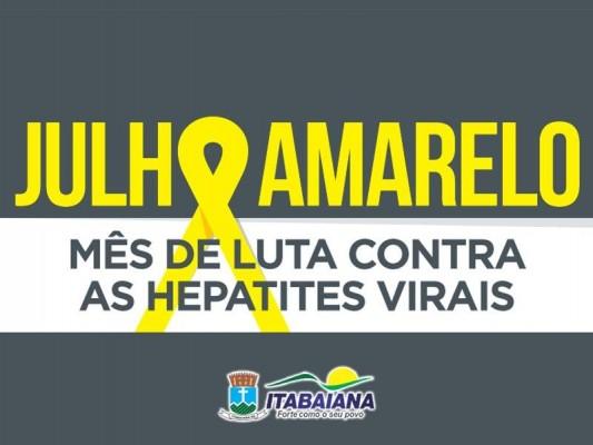 MÊS DE LUTA CONTRA AS HEPATITES VIRAIS