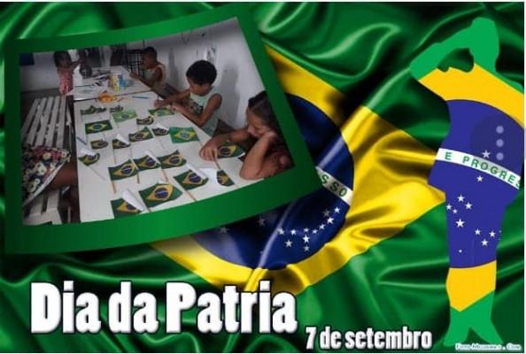 INDEPENDÊNCIA DO BRASIL MARACA ATIVIDADES DESENVOLVIDAS PARA AS CRIANÇAS PELO COLETIVO SANTO ANTÔNIO DO CRAS II