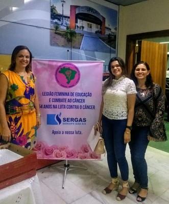 SECRETARIA DE SAÚDE DE ITABAIANA PARTICIPA DA LEGIÃO FEMININA DE EDUCAÇÃO E COMBATE AO CÂNCER