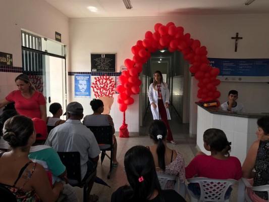 SECRETARIA DE SAÚDE DE ITABAIANA PROMOVE CAMPANHA EDUCATIVA DEZEMBRO VERMELHO