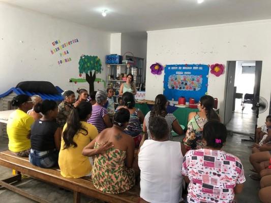 CRAS II REALIZA PALESTRA SOBRE LAÇOS FAMILIARES