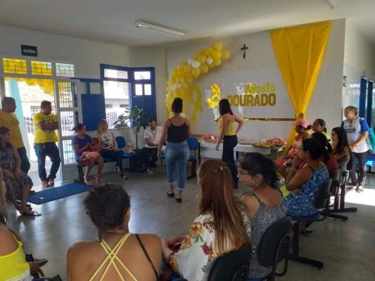 MÃES DO BAIRRO MIGUEL TELES RECEBEM ORIENTAÇÕES SOBRE ALEITAMENTO MATERNO