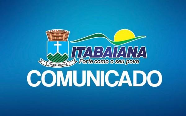 COMUNICADO SOBRE ANTECIPAÇÃO DA FEIRA LIVRE