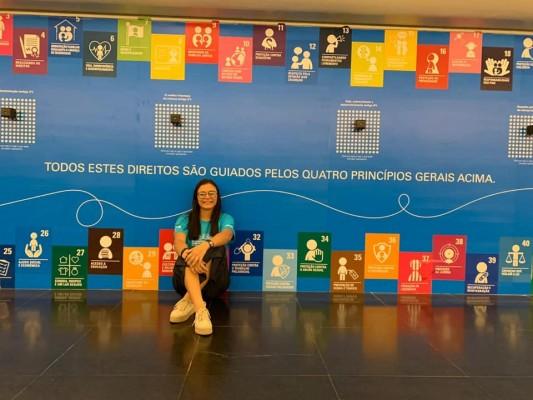 ESTUDANTE DE ITABAIANA REPRESENTA SERGIPE EM SOLENIDADE DO UNICEF EM BRASÍLIA
