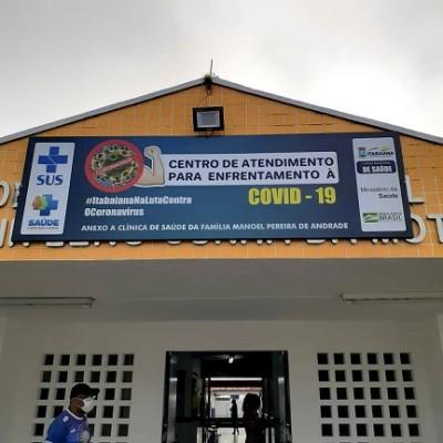 PREFEITURA DE ITABAIANA ENTREGA CENTRO DE ATENDIMENTO PARA O ENFRENTAMENTO À COVID-19 PARA A POPULAÇÃO