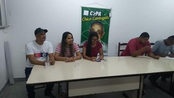 REUNIÃO MARCA PREPARAÇÃO PARA A VII EDIÇÃO DA COPA CHICO CANTAGALO