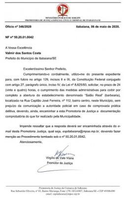 NOTA OFICIAL: PREFEITURA DE ITABAIANA ESCLARECE SOBRE FECHAMENTO DE SALÃO DE BARBEIROS E CABELEIREIROS