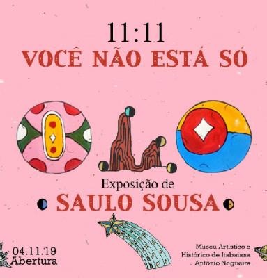 MUSEU DE ITABAIANA SEDIA EXPOSIÇÃO DO ARTISTA SAULO SOUSA