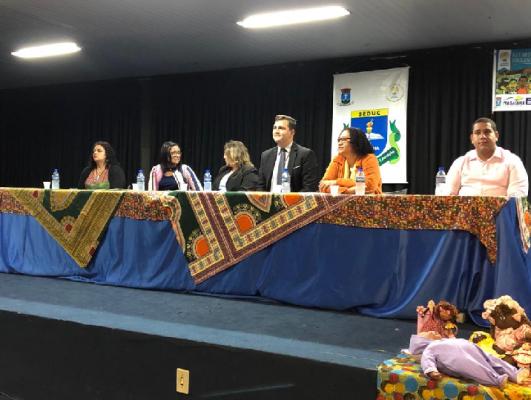EM PARCERIA COM A UFS, SECRETARIA DE EDUCAÇÃO ABRE SEMANA PEDAGÓGICA