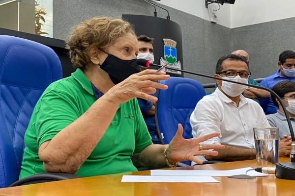 Senadora Maria do Carmo é recebida em Itabaiana e buscará recursos para o município