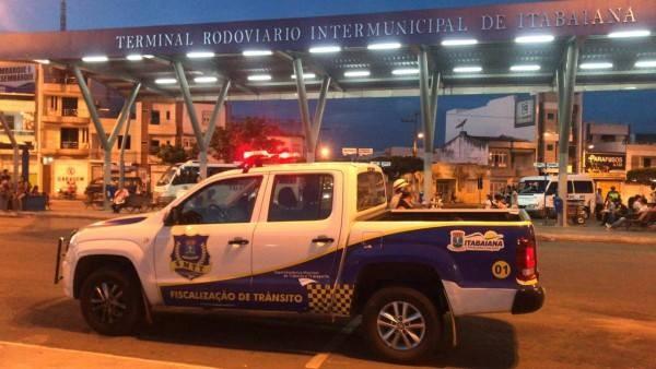 SMTT REALIZA FISCALIZAÇÃO NO TERMINAL RODOVIÁRIO INTERMUNICIPAL DE ITABAIANA