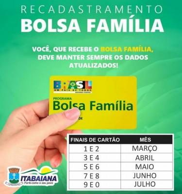 BENEFICIÁRIOS DO BOLSA FAMÍLIA QUE ATUALIZARAM OS DADOS EM 2018 DEVEM REFAZER O PROCESSO